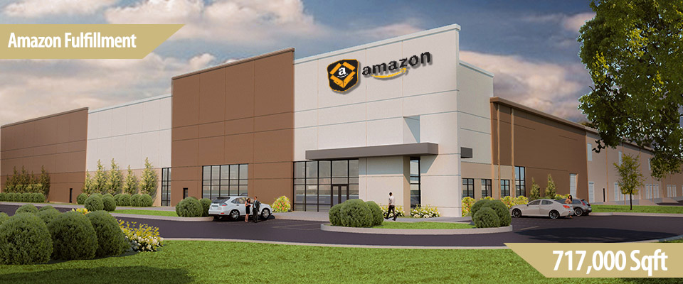Gateway East 717 is a 717,000 square foot 36 foot clear modern bulk warehouse adjoining the Gateway Commerce Center diamond interchange.  The project is a joint venture with Pacific Coast Capital Partners built in 2015.